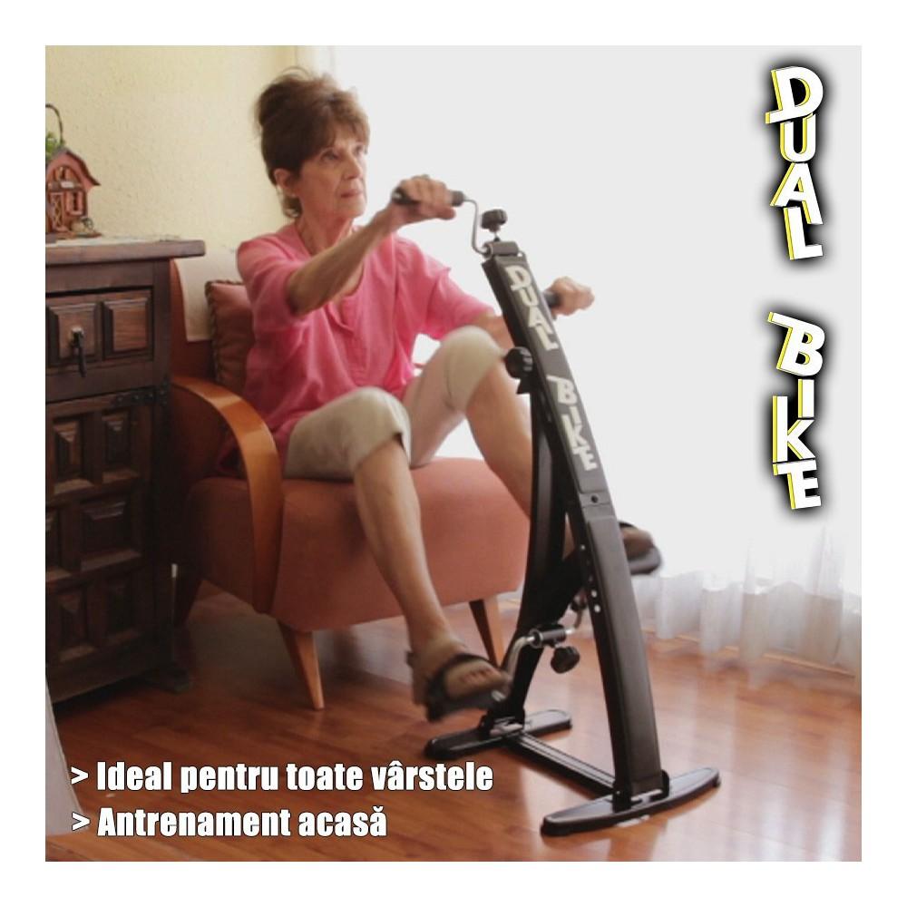 antrenament dual bike