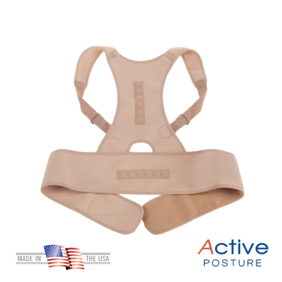 Active Posture ➜ corset cu 12 Magneti pentru corectarea posturii ➜ set 2 bucati
