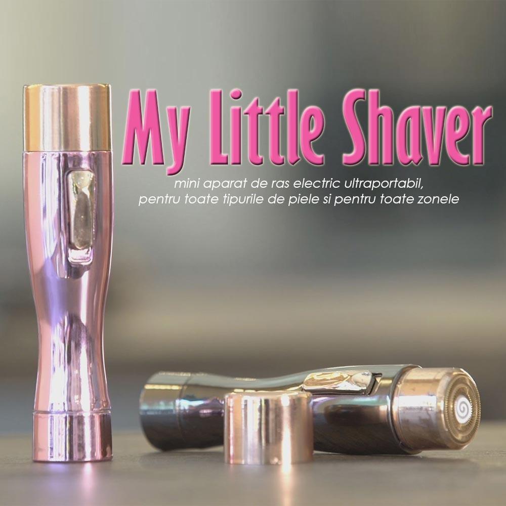 My Little Shaver ➜ aparat de ras pentru zone delicate ➜ set 2 bucati