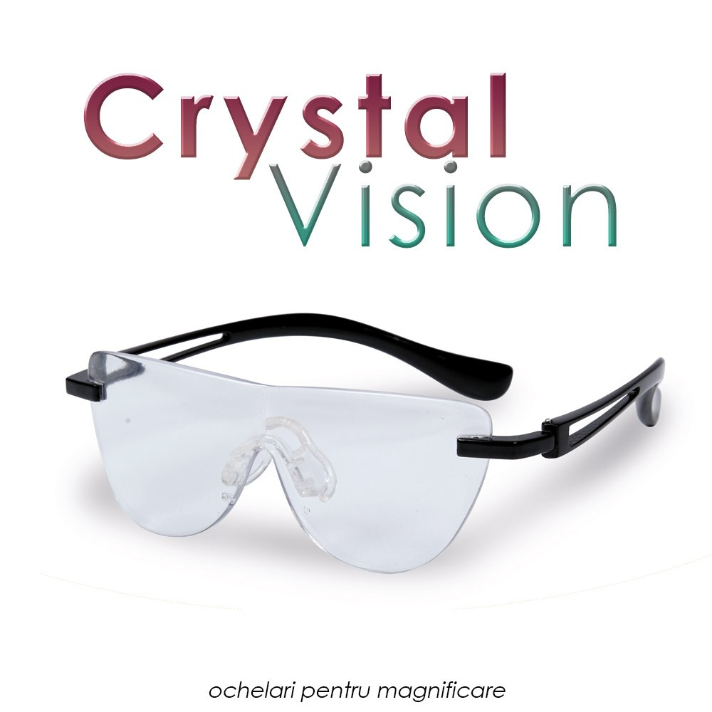 Ochelari Crystal Vision - 2 perechi