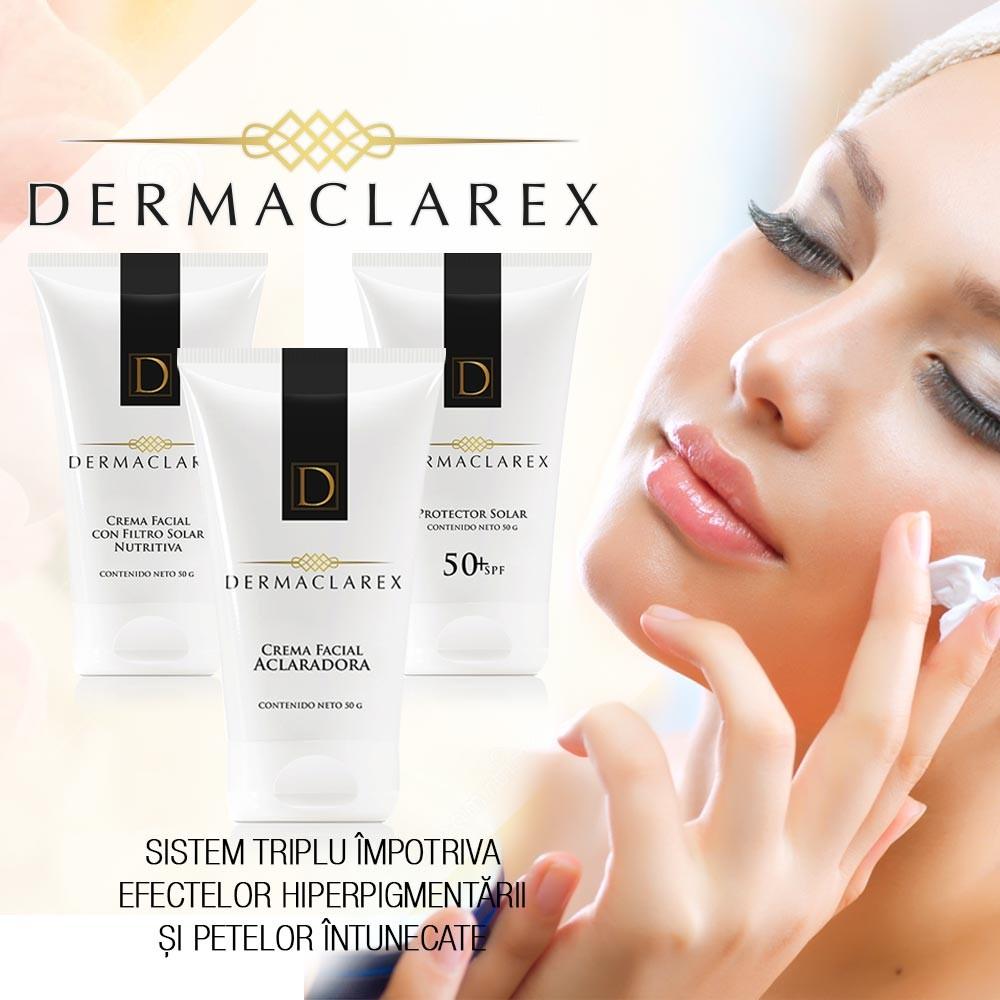 Dermaclarex ➜ set 3 creme ➜ pete de pe piele si hiperpigmentare