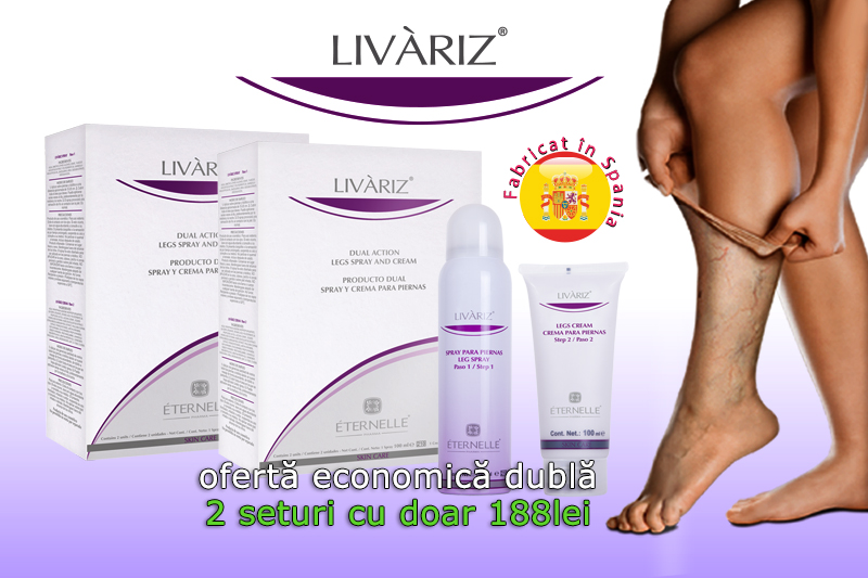 Livariz - 2 Spray + 2 Creme