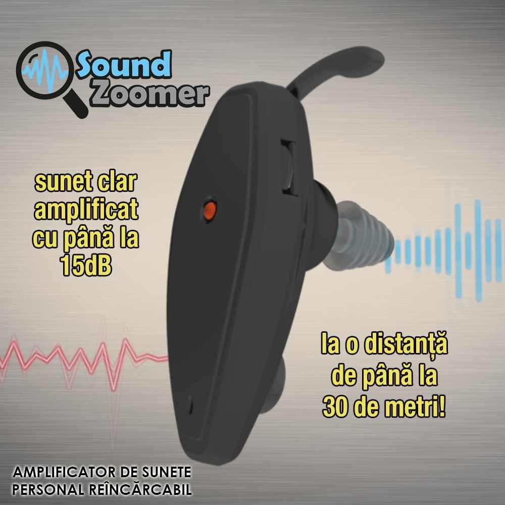 Amplificator sunete Sound Zoomer - 2 bucati
