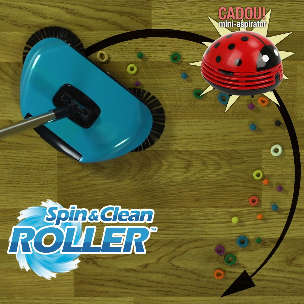 Spin Clean Roller
