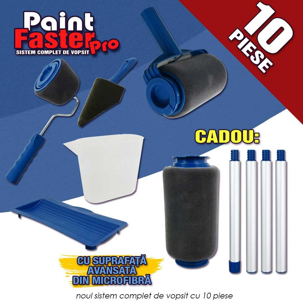 Paint Faster Pro – trafalet cu rezervor cu 10 piese și livrare gratuită